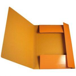 Cartelle con elastico Memotak Std Arancio