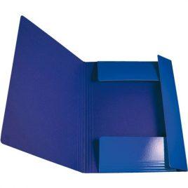Cartelle con elastico Memotak Std Blu