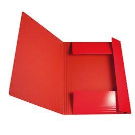 Cartelle con elastico Memotak Std Rosso