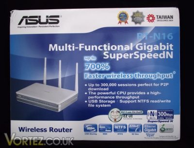 ASUS ROUTER RT-N16
