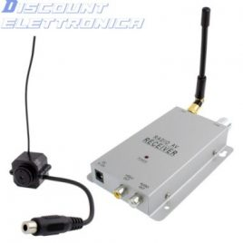CMOS CAMERA WIRELESS 1/3″ E RECEIVER