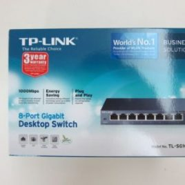 SWITCH 8 GIGABIT METALLO