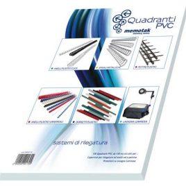 Copertine PVC Quadranti Video A3 150 M 100 pz.