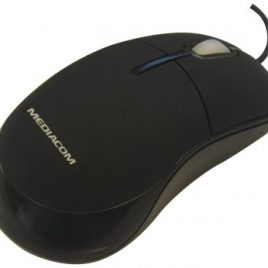 MOUSE OPTICAL MEDI@COM 3BOTT. USB/PS2