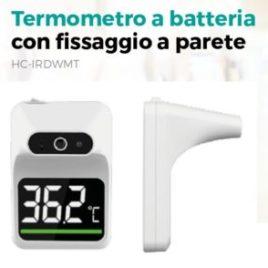 Termometroa Batteria con fissaggio a parete